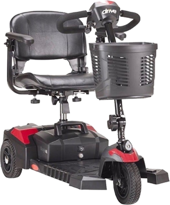 3 Wheel Scout Drive Medical Mobility Scooter: