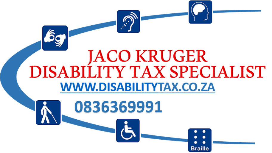 Jaco Kruger - Disability Tax Specialist