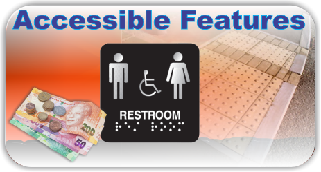 Accessible Features for the Blind