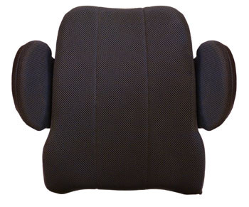 Armadillo back with cover and adjustable dual pd side supports