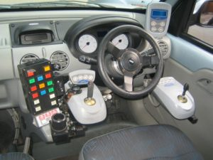 Cape Mobility-Hand Controlls