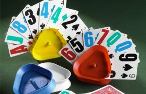 Low Vision, Large Print Playing Cards and Card Holders