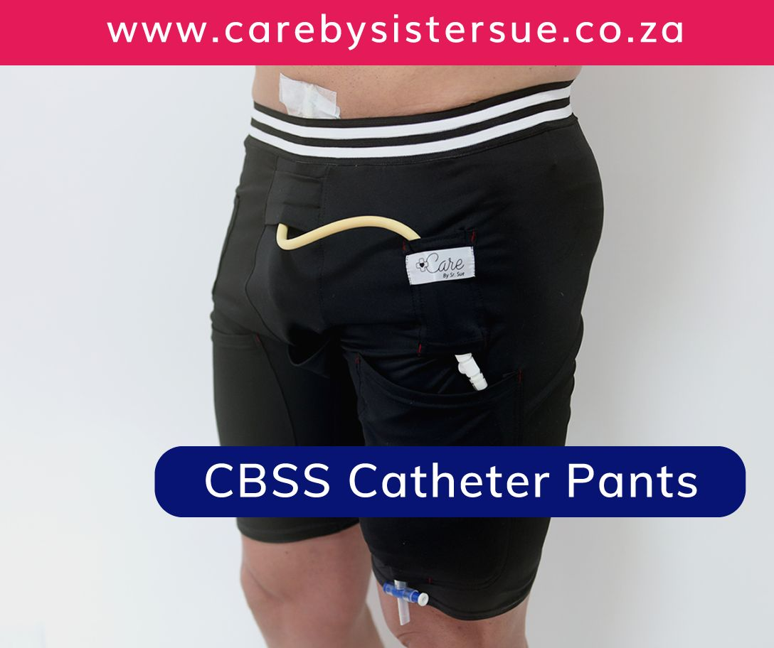Care by Sr. Sue (CBSS) Catheter Pants