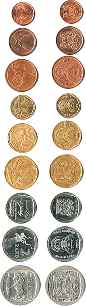 Coins - distinct features