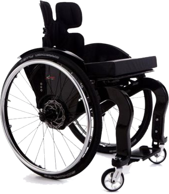 CSEI Evo (Double Post) Carbon Fiber Wheelchair