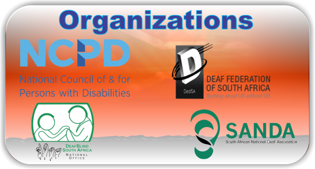 Organiations for the deaf