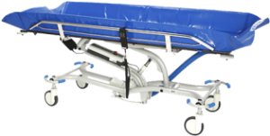 Ergolet Lambda Shower Trolley Mobile Bath/shower hygeine system.
