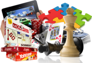 Card, Video & Board Games