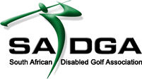 South African Disabled Golf Association logo