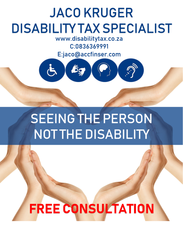Jaco_Kruger Disability Tax SpecialistAdvert
