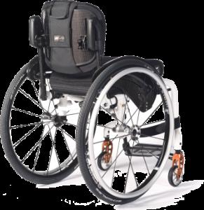 Jay Backrest on manual wheelchair