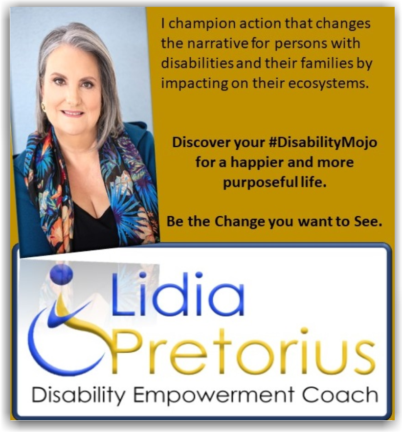 Lidia Pretorius - Disability Empowerment Coach