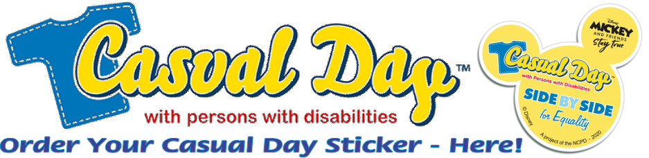 Order Your Casual Day Sticker - Here!