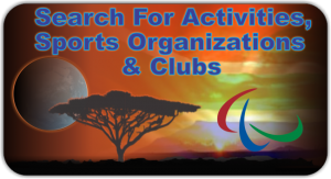 Search For Activities, Sports Organizations & Clubs
