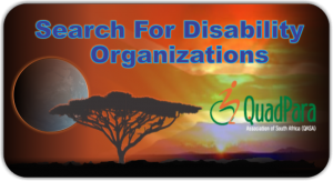 Search For Disability Organizations