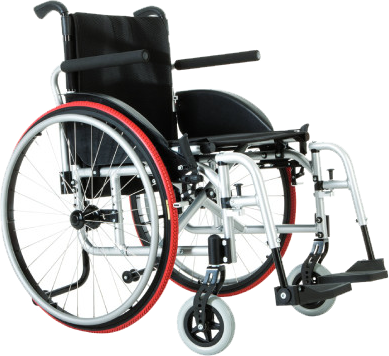 Sheer Mobility Foldable Manual Wheelchair