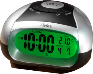 T21 Talking Alarm Clock with Spoken Temperature