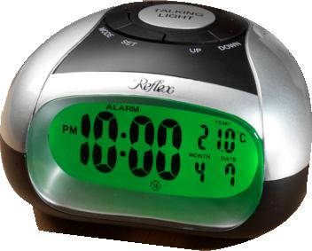 T21 Talking Alarm Clock with Spoken Temperature