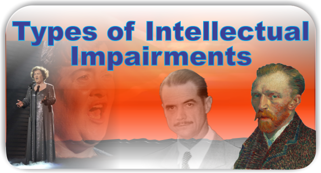 Types of Intellectual Impairments