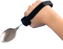 eating utensil strap