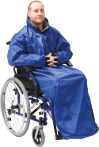 Wheelchair Coverall With Sleeves