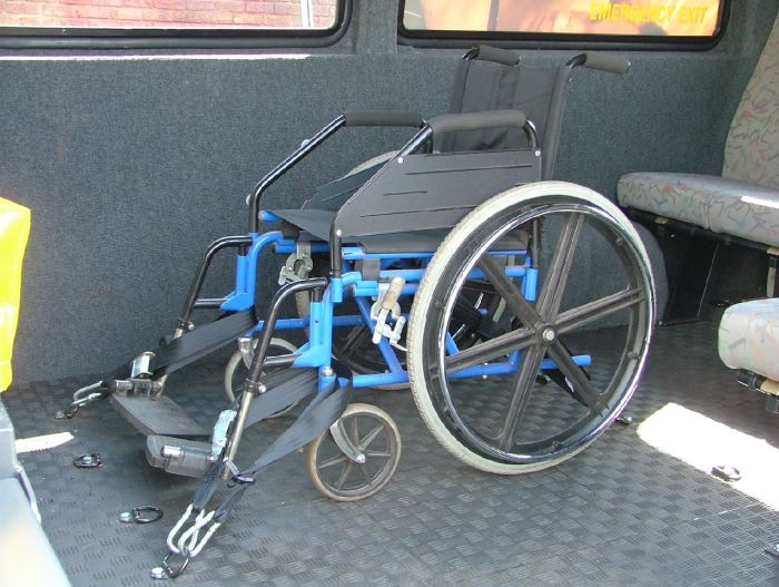Wheelchair Tie-down System